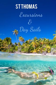 Virgin islands the island vacation destinations honeymoon cruise make most your thomas with these incredible excursions Cruise Travel, Cruise Vacation, Vacation Destinations, Vacation Trips, Vacation Spots, Day Trips, Vacation Ideas, Honeymoon Cruise, Florida Travel
