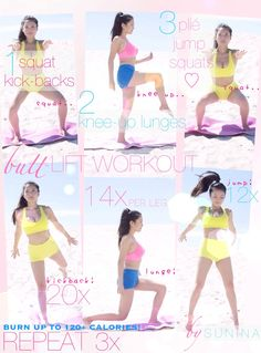 PRINTABLE BUTT-LIFT WORKOUT GUIDE