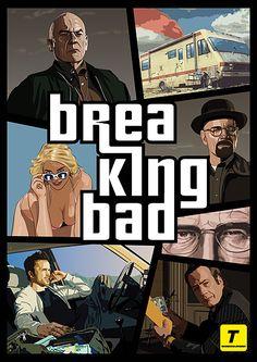 7 Great Pieces of Breaking Bad Fan Art Breaking Bad Arte, Frases Breaking Bad, Breaking Bad Tv Series, Breaking Bad Poster, Breking Bad, Bad Fan Art, Bad Film, Creation Art, Walter White