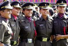 women in indian Army -newly recruits