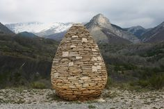 Hiking in France 2: Andy Goldsworthy Sentinels | Rosemary's Blog