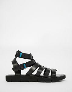 ce54fbefad4 Dune Leather Gladiator Sandals