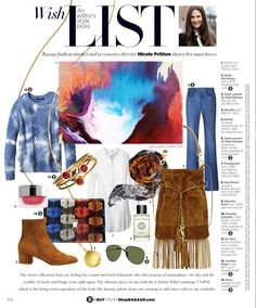 #Loveeverythingaboutit #thelist #boots #sweaters #denim #resortcollection #harpersbazaar ##nicolefritton #fashion #art