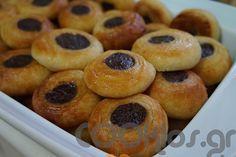 Ροξάκια - Συνταγή μέτριας δυσκολίας - Σχετικά με Γλυκά, Ταψιού - Σιροπιαστά - Ποσότητα 50-55 τεμ. - Χρόνος ετοιμασίας περισσότερο από 90 λεπτά