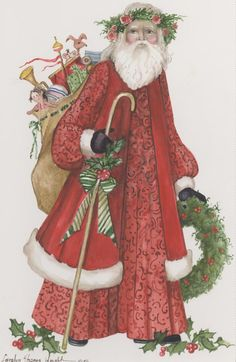StNicholas3 http://carolynshoreswright.net/shop/watercolors/christmas/