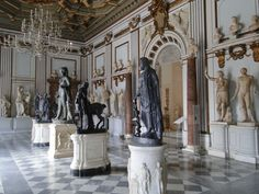 Inside of The Capitoline Museums - Rome