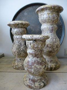 Brynxz earth vintage candle holders. www.gnuswonen.nl