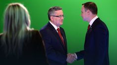 Debata prezydencka 2015 w TVN. Duda kontra Komorowski #wybory2015 #Polska