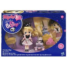 Hasbro Littlest Pet Shop Blythe Loves Littlest Pet Shop: Fabulously Vintage by Hasbro. $6.84. Blythe & her pet play dress up.. Collect them all. Very interesting figures.