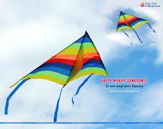 Makar Sankranti Kites Festival Wallpapers Images Download