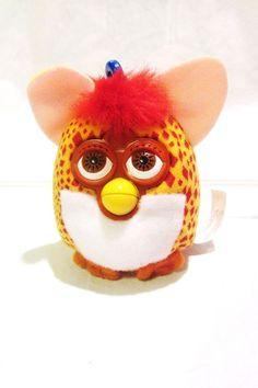 Furby Giraffe Plush Clip On Toy McDonalds Issue 2000 #Furby