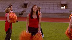 Here Are Smallville High Cheerleaders. Hay There Is Ms Lana Lang. Location Smallville Kansas
