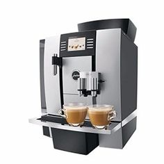 Jura 15089 GIGA Professional Automatic Coffee Machine, Silver for sale online Cappuccino Maker, Cappuccino Machine, Espresso Maker, Jura Coffee Machine, Espresso Coffee Machine, Coffee Maker, Barista Recipe, Lemon Water Before Bed, Coffee Geek