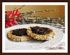 Kriszta konyhája- Sütni,főzni bárki tud!: Szilvalekváros-csokis kosárka (paleo)