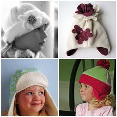 Sewing for the Season: Winter hats for Kids - A Sewing Journal - A Sewing Journal
