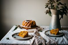 holiday butternut bundt cake | dolly and oatmeal