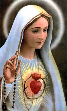 May Feast of Our Lady of Fatima. Our Lady of Fatima, pray for us! Prayers To Mary, Catholic Prayers, Blessed Mother Mary, Blessed Virgin Mary, Mother Dearest, Religious Pictures, Religious Art, Religious Icons, Madonna
