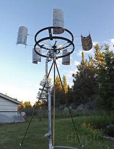 homestead survival diy wind powered water pump