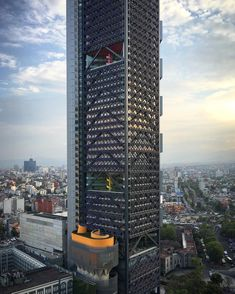 """The BBVA Bancomer Tower in #MexicoCity by #LegoRogers, the @legorreta_arqs + @rogersstirkharbour Partnership  #architecture #ArchDaily #instagood…"""
