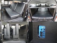 ハイエース 2段ベッド・サブバッテリー 本格ライトキャンパー FD-BOX6 フレックス・ドリーム【車中泊できる街乗り仕様車FD-BOX】