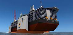 The Motorship - Heavy lift ship is world's largest
