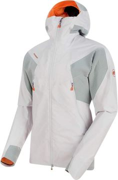 Mammut - Nordwand HS Flex Hooded Jacket - Waterproof jacket ➽ Dispatch within - Buy online now! ✓ 30 Day Return Policy ✓ Expert advice ✓ Free delivery to EU countries Stylish Mens Fashion, Sport Fashion, Ladies Fashion, Fashion Men, Outdoor Wear, Cool Jackets, Sports Jacket, Jackets Online, Hoods