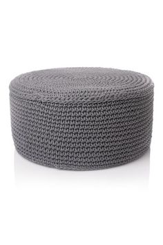 Chunky knitted stool. Quite loving all this new FC For The Home stuff