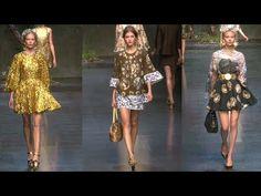 Dolce and Gabbana Spring 2014 Runway   Fashion Week Spring 2014