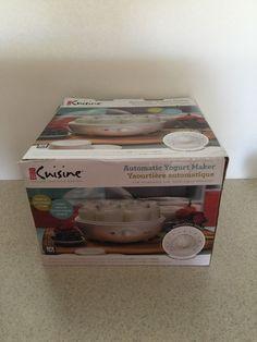 Euro Cuisine Automatic Yogurt Maker White   eBay
