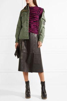 Marc Jacobs - Embellished Cotton-canvas Jacket - Green - US