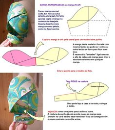 I think I want to make all my sleeves petal / tulip sleeves =) - Salvabrani Tulip Sleeve, Petal Sleeve, Sewing Hacks, Sewing Tutorials, Sewing Projects, Sleeves Designs For Dresses, Sleeve Designs, Techniques Couture, Sewing Techniques