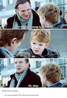 Thomas Brodie-Sangster ~ love actually haha that's because he looks like 5 when he's actually the same age as meh 9gag Funny, Stupid Funny Memes, Funny Relatable Memes, Haha Funny, Hilarious, Funniest Memes, The Maze Runner, Maze Runner Funny, Maze Runner Thomas