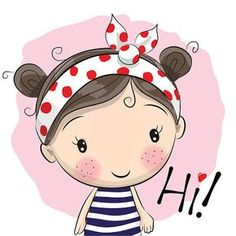 Find Cute Cartoon Girl On Pink Background stock images in HD and millions of other royalty-free stock photos, illustrations and vectors in the Shutterstock collection. Cartoon Cartoon, Cute Cartoon Girl, Cartoon Characters, Cartoon Rabbit, Cartoon Images, Cute Little Girls, Cute Kids, Cute Images, Cute Pictures