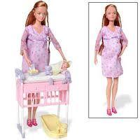 Pregnant Midge, Barbie's oldest friend.  barbie.wikia.com - Google