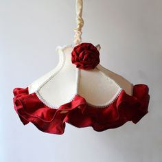 European Pastoral Hit Color Red Fabric Lace Princess Bedroom Pendent Light Bedroom Pendent Lamp  http://www.oovov.com/lamps/european-pastoral-hit-color-red-fabric-lace-princess-bedroom-pendent-light-bedroom-pendent-lamp-3614.html
