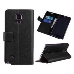 Plånboksfodral till Samsung Galaxy Note 4 - ALLTID FRI FRAKT hos www.CaseOnline.se  En mobilplånbok i mycket fin kvalitè 2 kortplatser, sedelfack och ställfunktion.  #samsung #galaxy #note4 #mobilplånbok #mobil #plånbok #fodral #skydd #skal