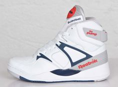 The legendary original Pump silhouette is turning twenty five this year. The sneaker that was rumored to add lift to your vertical is currently stomping Work Sneakers, Ankle Sneakers, Classic Sneakers, Casual Sneakers, Shoes Sneakers, Reebok, Pumps, Pump Shoes, Tenis Basketball