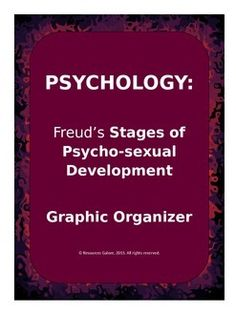 This is an excellent product summarizing the five different stages of psycho-sexual development. It includes a graphic organizer for students to work on, followed by the answer key.A great classwork or homework activity! Print and go!!!Check out more quality, ready-to-use resources:More from Resources GaloreFollow me on:PinterestCLICK on the green FOLLOW ME button and be the first to know when new resources become available!Thank you for visiting my…
