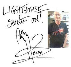 Jimmy Page Autograph | An autograph from Jimmy Page when he visited the…