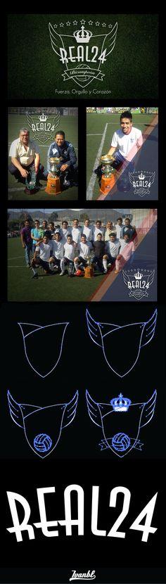Escudo Real 24 - Soccer Team by Yo Soy Ivanbl, via Behance