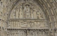 Notre Dame  de Paris  Portico