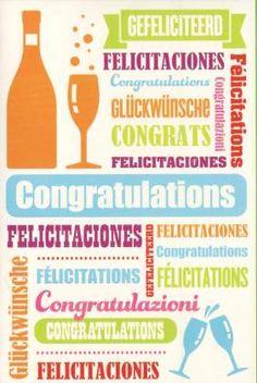 hartelijk gefeliciteerd in alle talen 70 best Felicitatiekaarten algemeen images on Pinterest hartelijk gefeliciteerd in alle talen