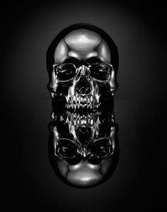 Skull bySPENCER HIGGINS.