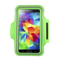 Sport & Running & Jogging & GYM Armband Case for Samsung Galaxy S3 & Galaxy S4 & Galaxy S5, Water Resistant & Sweat Proof & Built in Key Holder Slot (Green). Compatible for Samsung Galaxy S5 series models: G900 G900T G900A G900R4 G900V G900M G900K G900L G900S G900I G900F G900H G900W8.