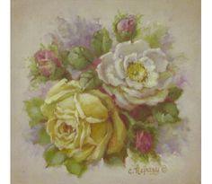 Yellow Rose Print