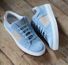 Greats Brand x Orley Blue Suede Royale