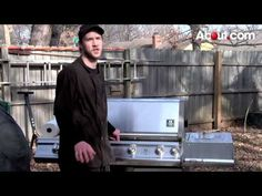 Want to learn how to cook BBQ ribs on a gas grill at your home? This video will show you how to do it at home as easily as possible.