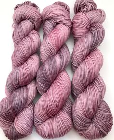 A personal favorite from my Etsy shop https://www.etsy.com/ca/listing/520778265/hand-dyed-yarn-lavender-grey-pink-merino