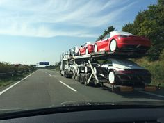 German cars on German Autobahn