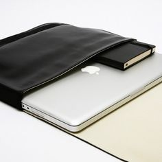 Moleskine Laptop Cases.. would never purchase until I'd met it in person. P.S. my fingertips would really like to meet this.